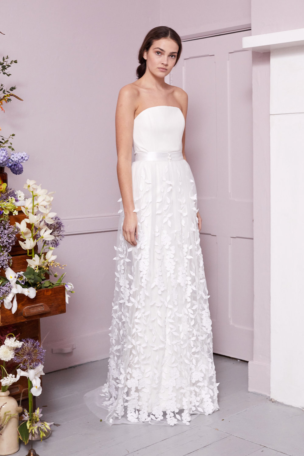 BEALE SKIRT & OLIVER DRESS | WEDDING DRESS BY HALFPENNY LONDON