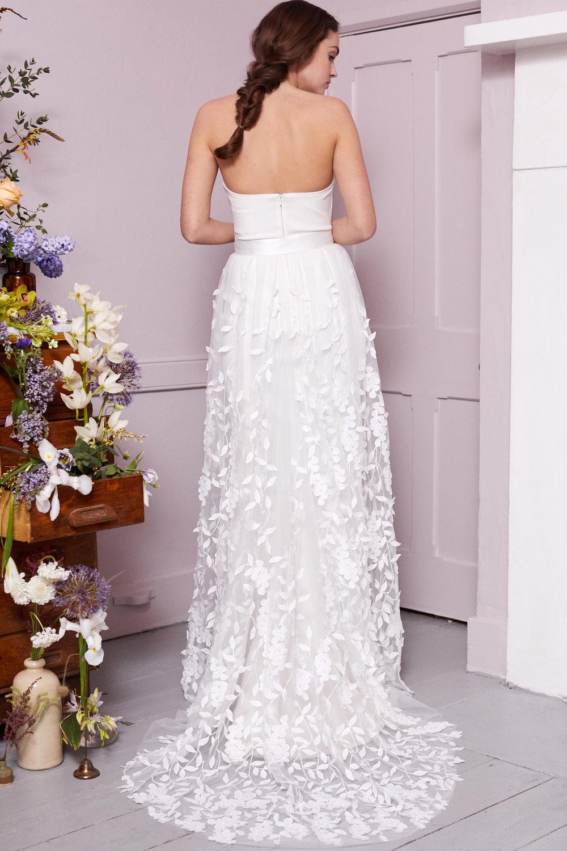 BEALE SKIRT & OLIVER DRESS | WEDDING DRESS BY HALFPENNY LONDON
