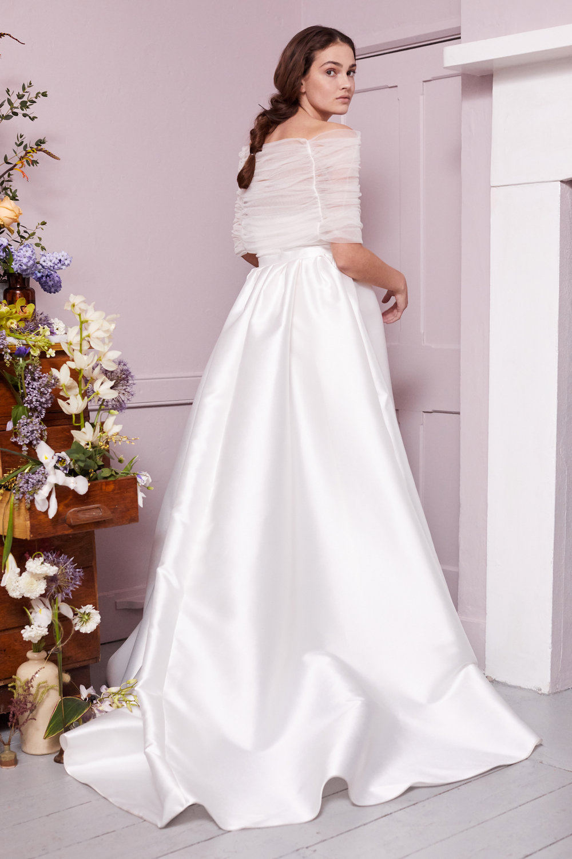 MANET SHRUG & OLVER DRESS | WEDDING DRESS BY HALFPENNY LONDON