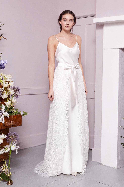 PENROSE SKIRT & IRIS SLIP | WEDDING DRESS BY HALFPENNY LONDON