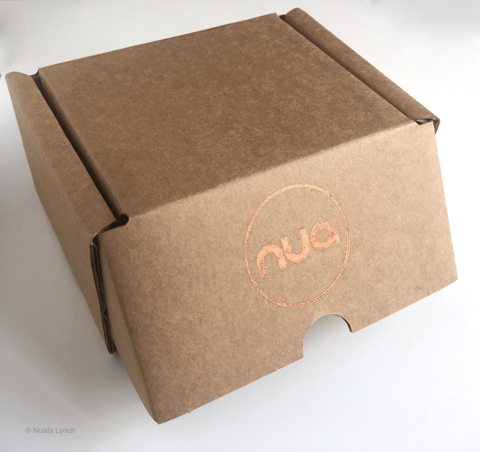 Plastic free. - All nua packaging is now plastic free.
