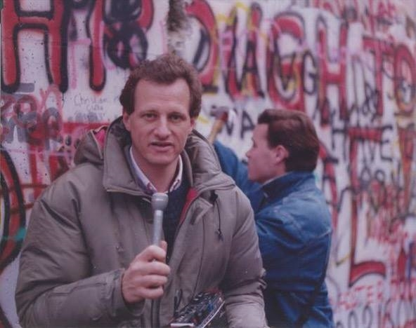 Richard Davies reporting from the Berlin Wall