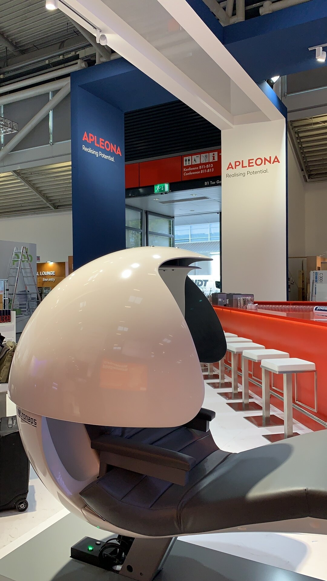In partnership with Apleona, MetroNaps was featured at the EXPO Real Conference in Munich on October 7-9, 2019. EXPO Real is Europe's largest B2B trade fair for real estate and investment. Learn more  here.