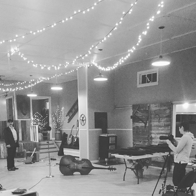 Yesterday I spent the day at the old Farmer's Hall near Gimli with the Nor'West Players and the very patient Julie Epp @pooliejupes shooting some live videos. I absolutely love this hall. You can't buy this kind of reverb! Thanks so much Darrell and Elaine! @jefflaird.drums @farmershall