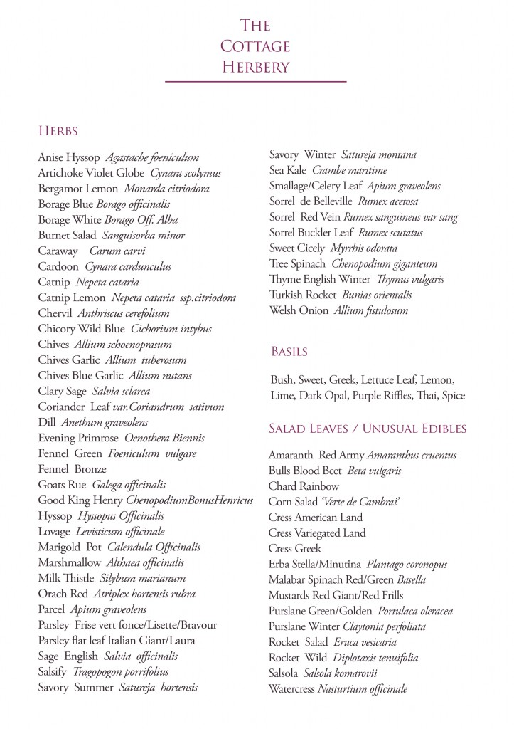 cottage herbery seed list pg01