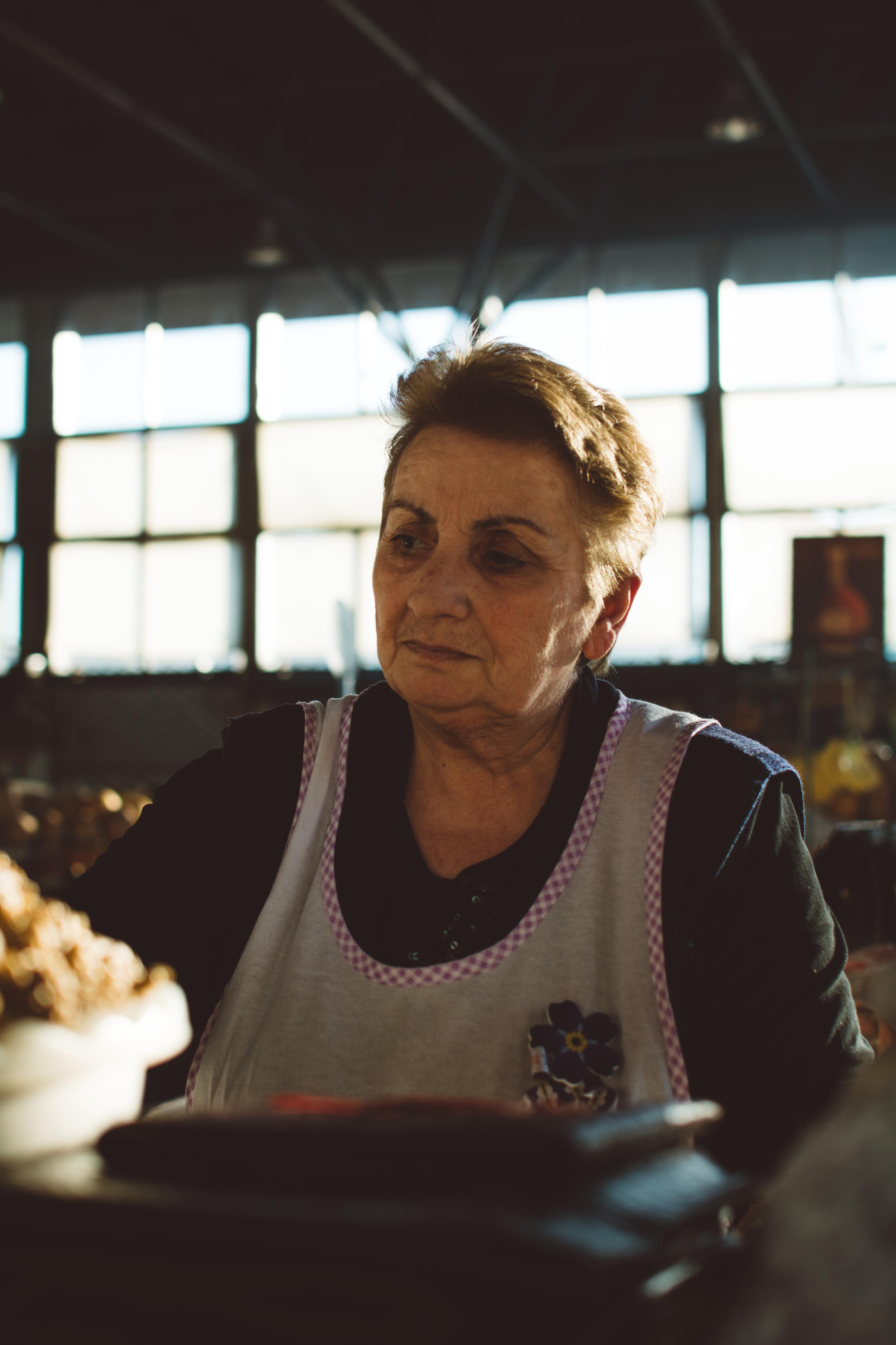 Market lady | Gabriella Simonian ©