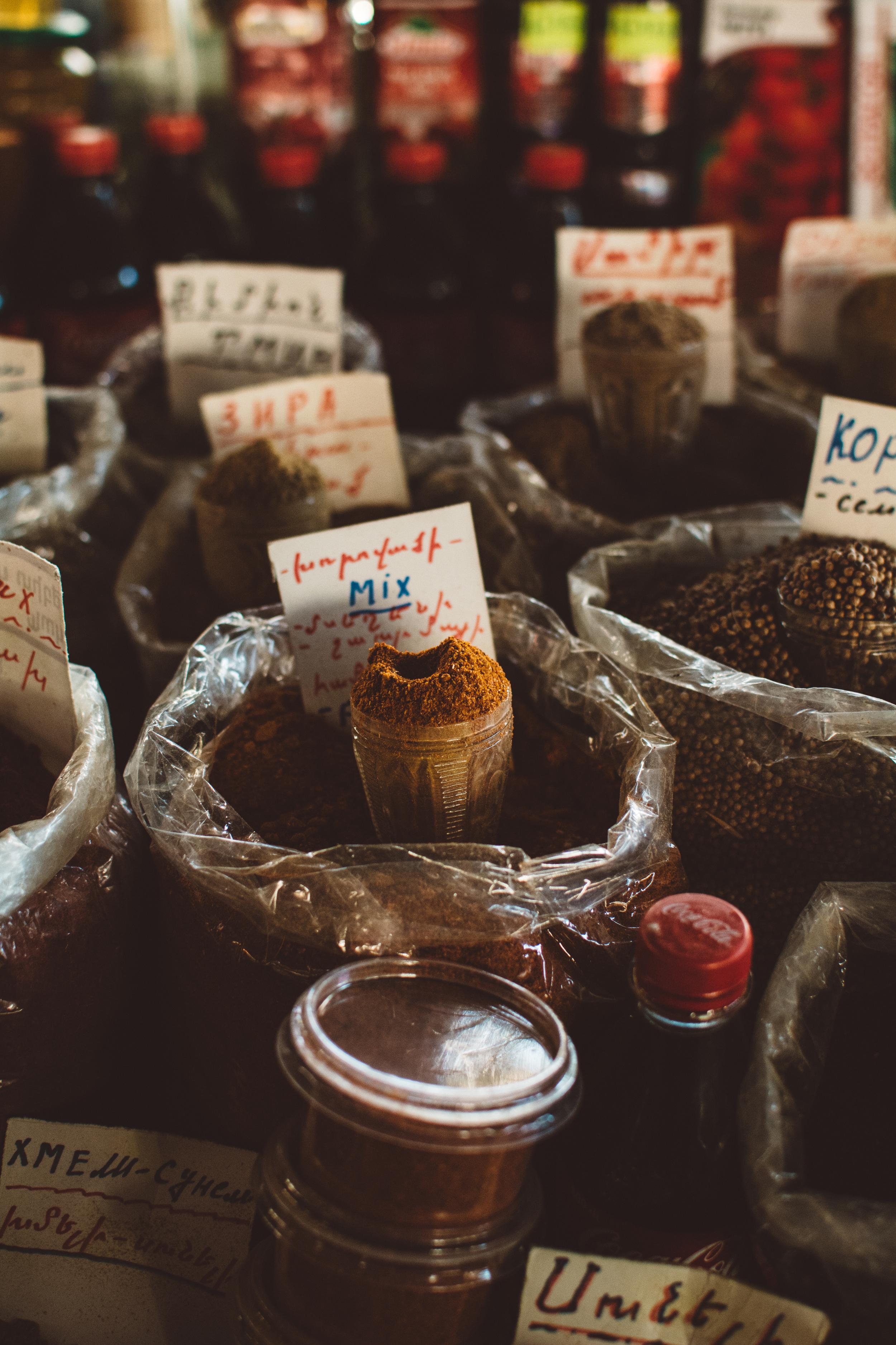 Spices at Gum Market | Gabriella Simonian ©