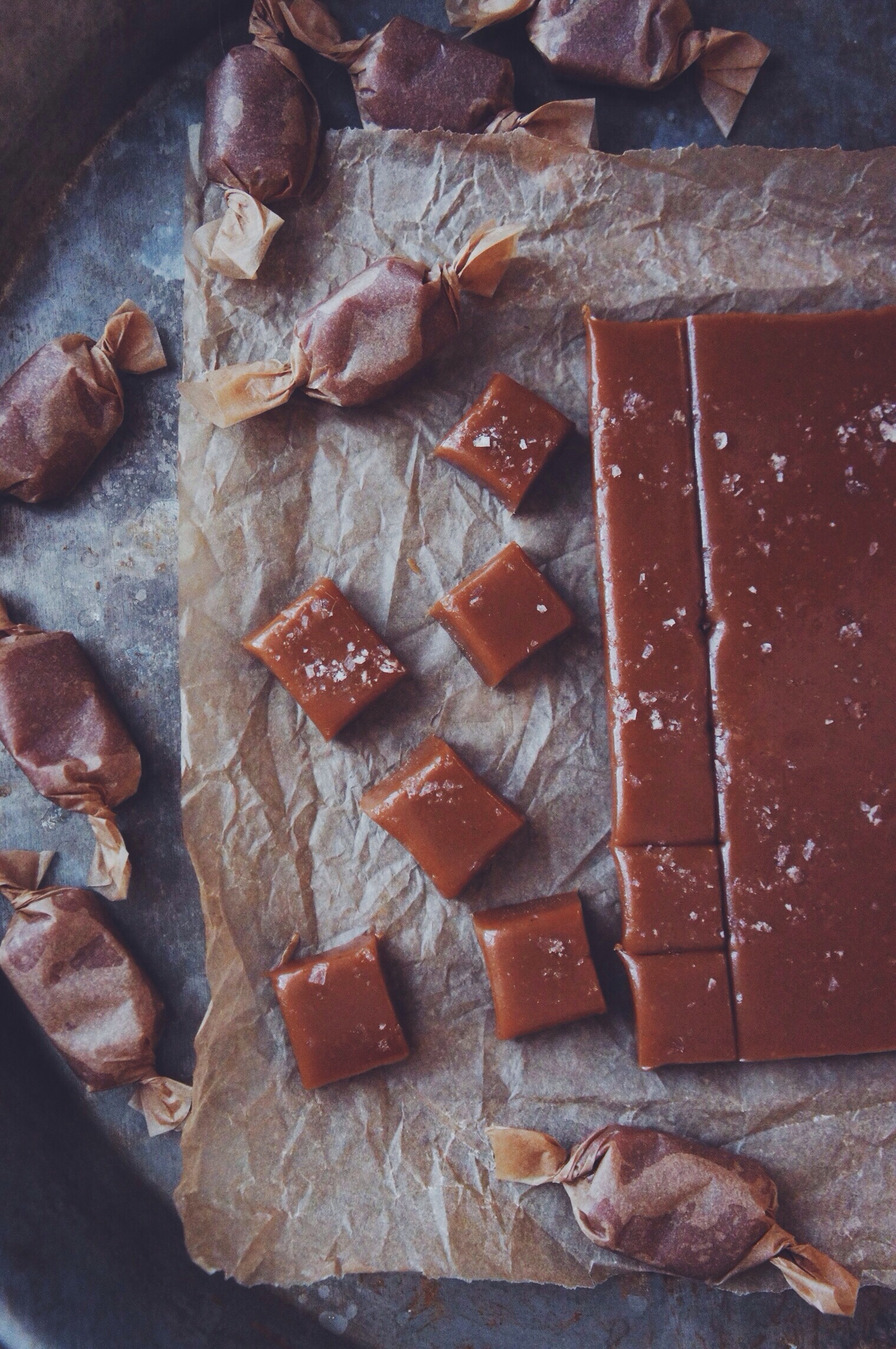 Salted Butter Caramels | Thyme & Honey