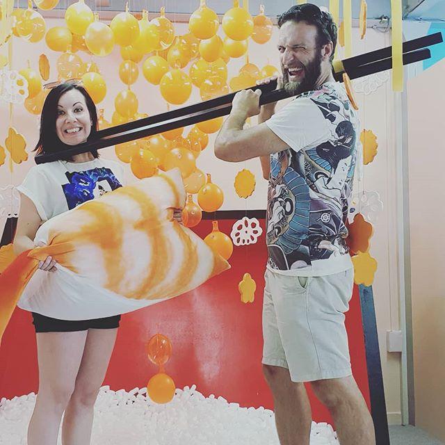 When sushi becomes a contact Sport. #japan #sushi