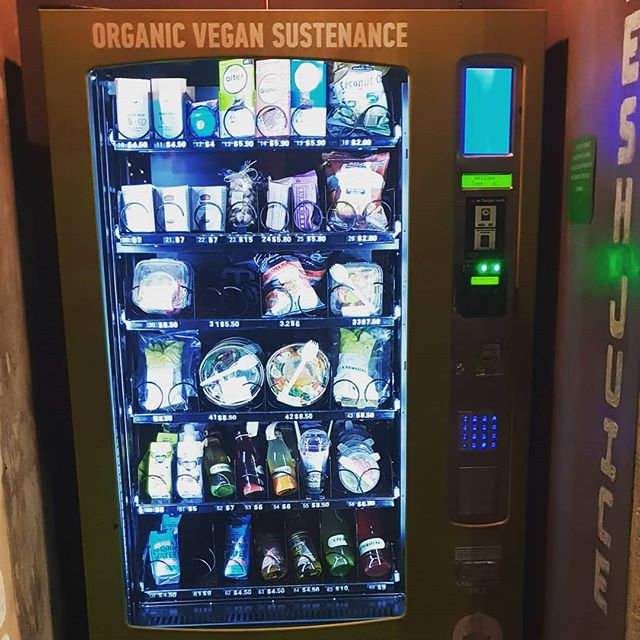 Vending machine salad . . .
