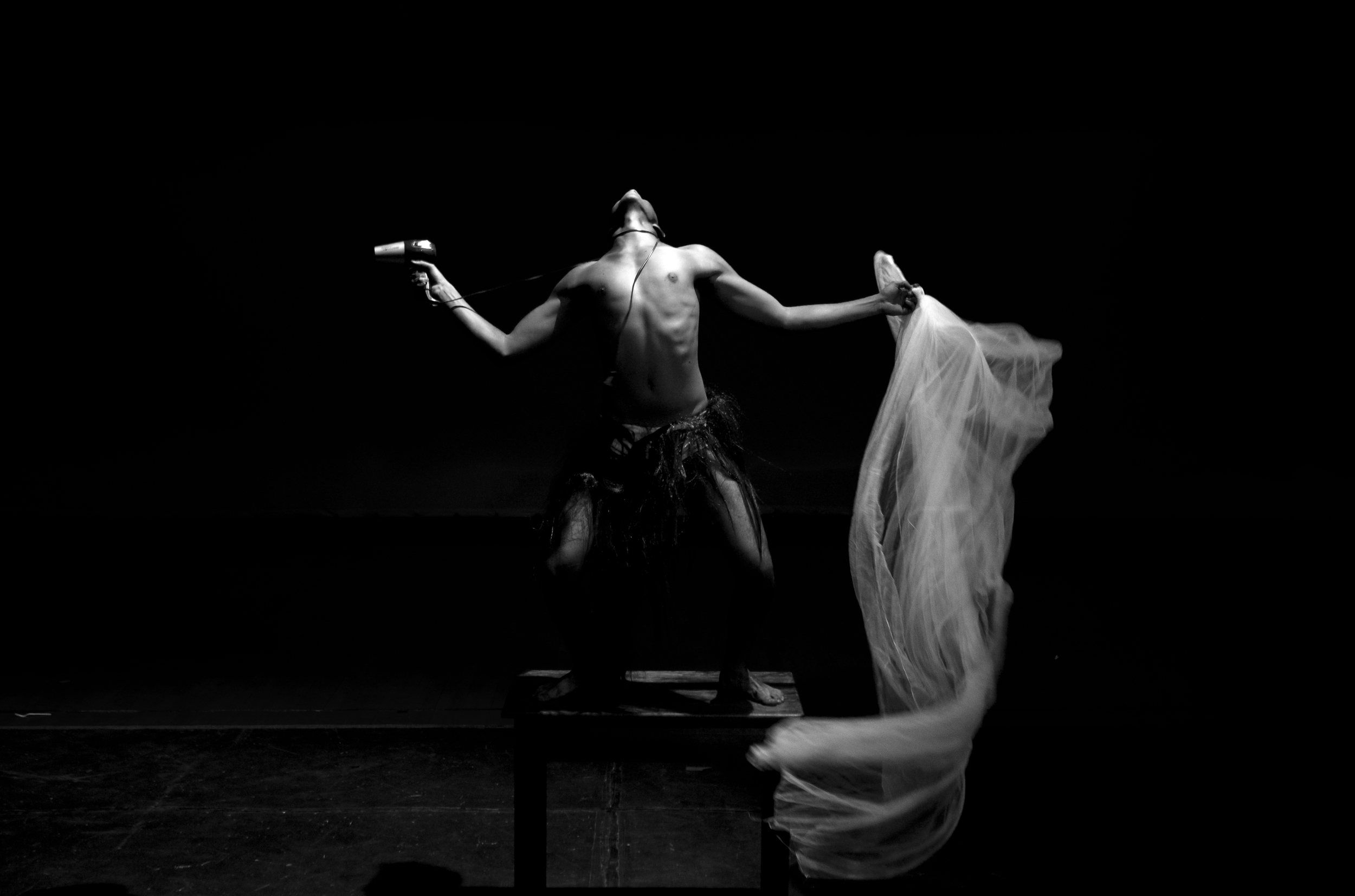 Choreographer and performer, Kieron Jina.