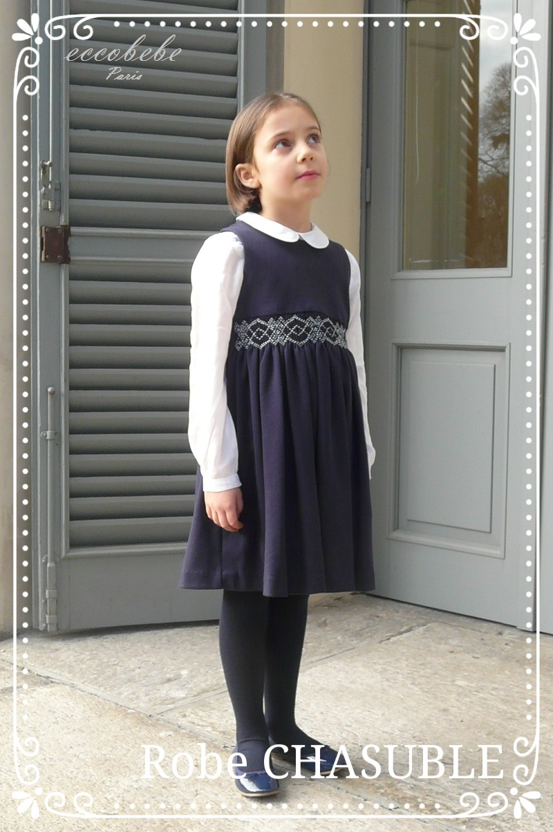 イタリア製 ストレッチ生地 ジャンバースカート 画像  CHASUBLE ① .JPG