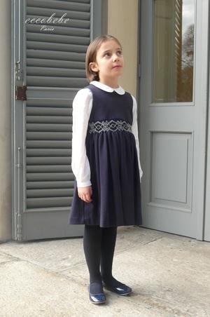 イタリア製 ストレッチ生地 ジャンバースカート 画像 +CHASUBLE ① .jpg