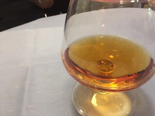 食後酒にはCOGNAC VSOP 王道です。