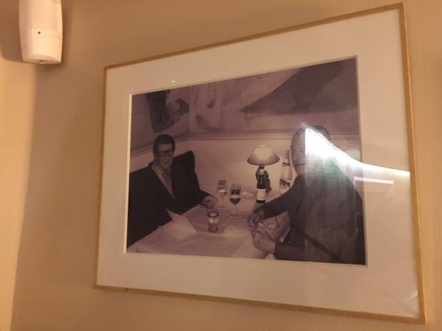 店内にはYves Saint Laurent イヴ・サンローランの写真も発見です。