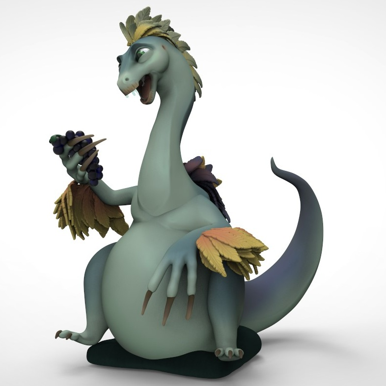 Terry the Therizinosaurus