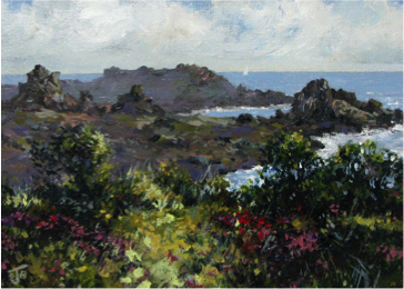 April on St. Agnes