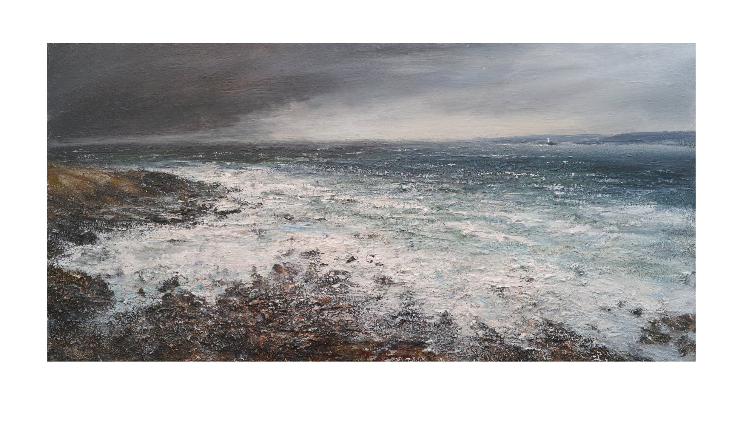 Approaching Storm, Clodgy Point, St. Ives