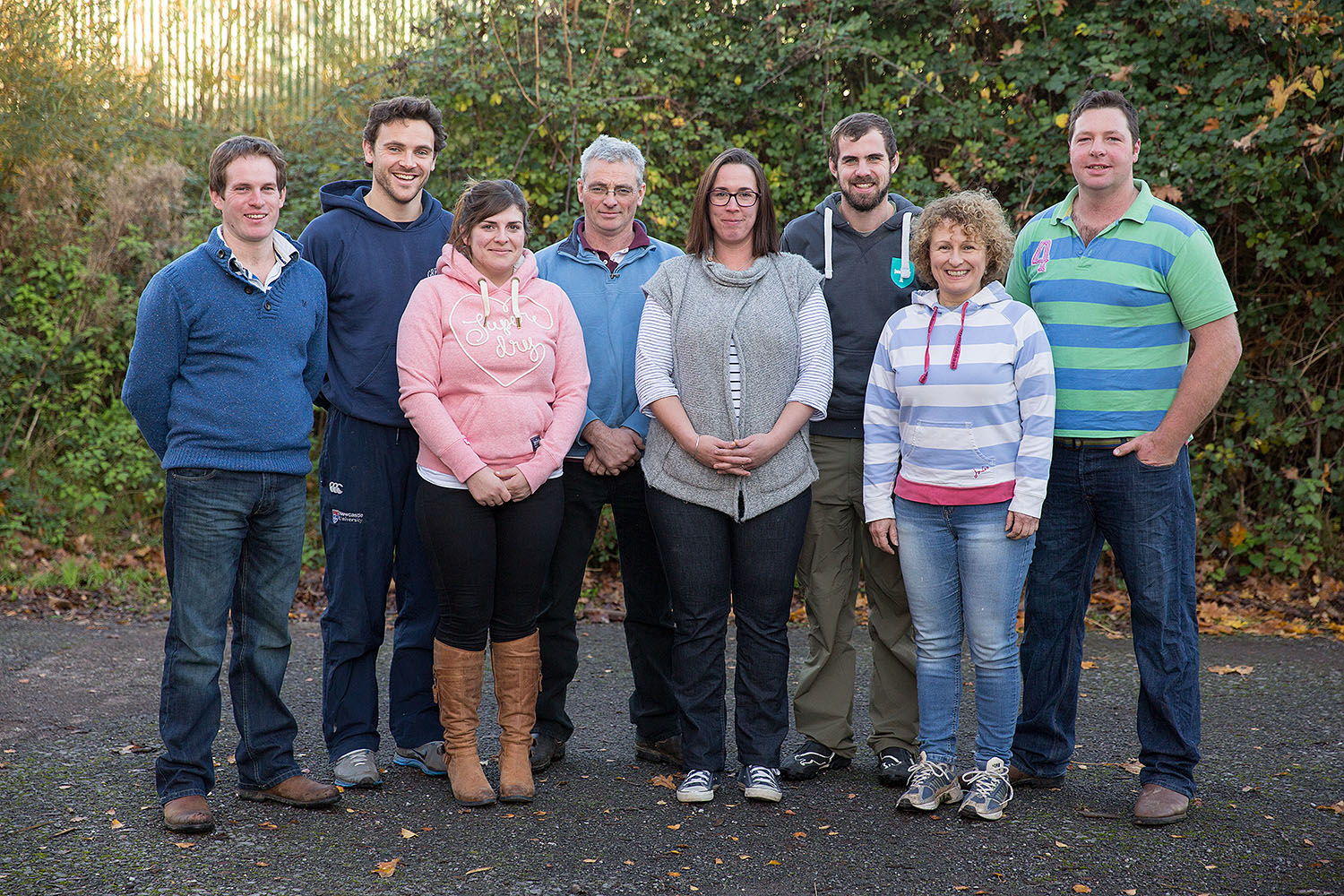 Students from the course at Bridgwater College, Cannington Centre, Somerset