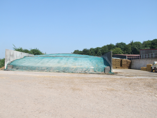 These silage pits are now 'bulging' full with a good first cut being taken followed by second cut and a record maize harvest.