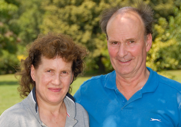 Pam and John Taylor expect high standards of work.