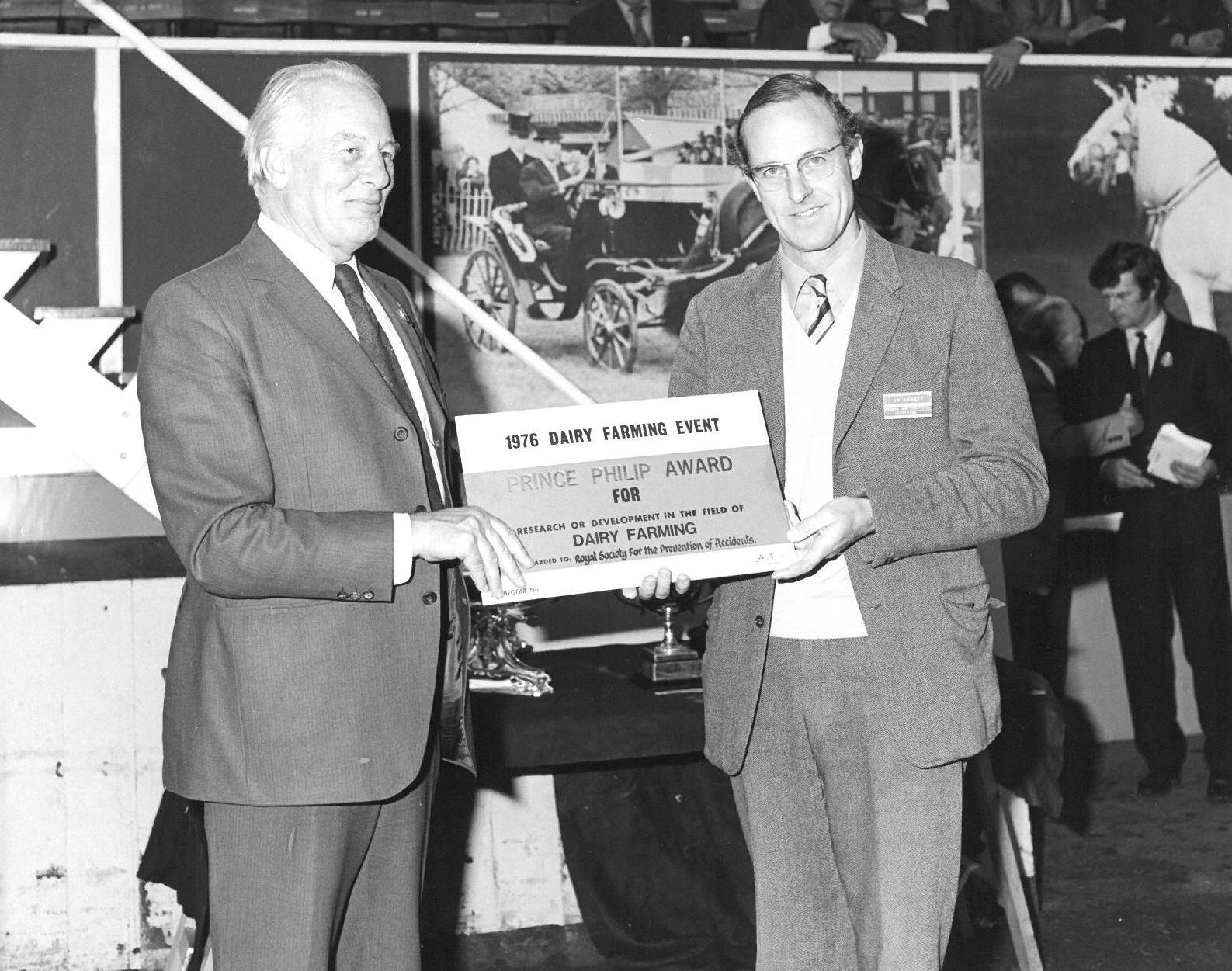 1976 Prince Philip Award