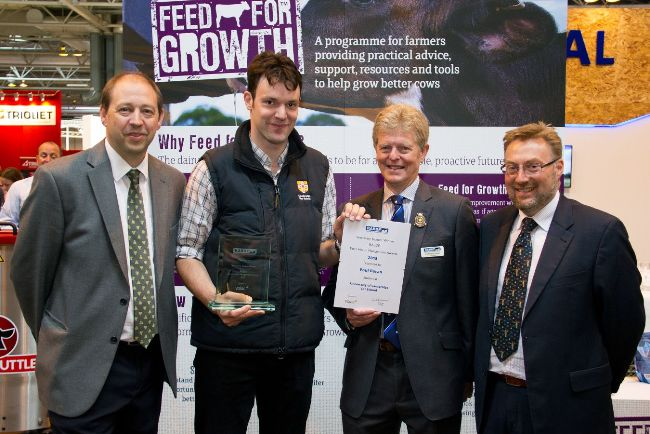 Veterinary winner Paul Doran, University of Cambridge Vet School