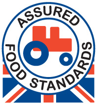 Look out for the Red Tractor logo on dairy products