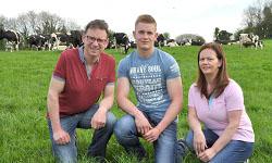 Adrian, Ryan and Sharon Macfarland