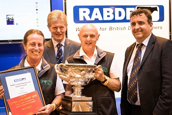 Pyon Products won this year's Machinery Equipment Award at the Livestock Event