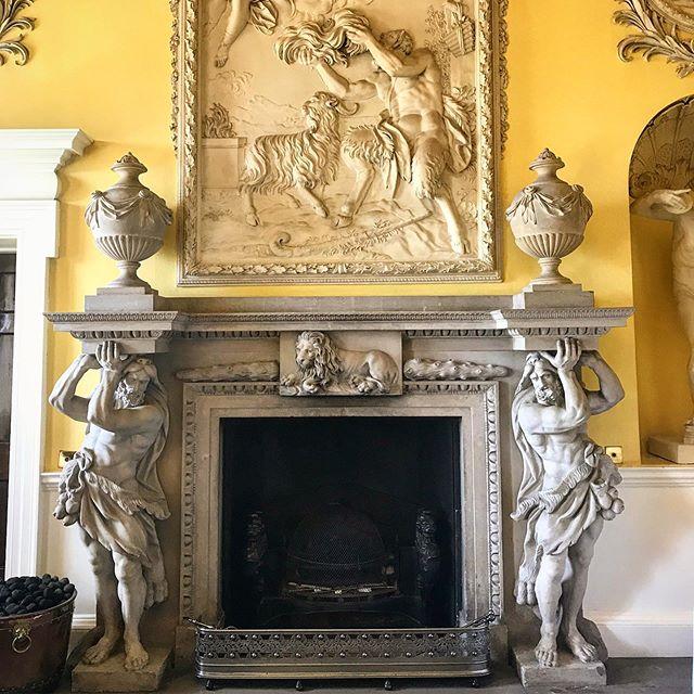 Hagley hall 🔥 place ———————————————————— #fireplaces #hagleyhall #baroqueengland