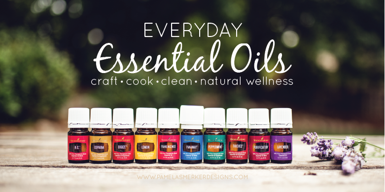 Get started with Essential Oils today! Pamela Smerker Designs