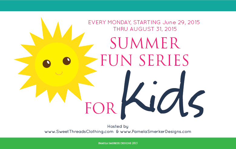 Summer Fun Series For Kids by Pamela Smerker Designs and Sweet Threads Clothing Co.