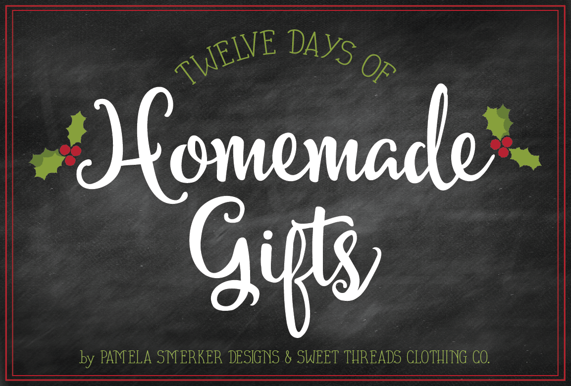 12 Days of Homemade Gifts {For Your MistleToes} Sugar Scrub Recipe and Free Printable Tags by Pamela Smerker Designs & Sweet Threads Clothing