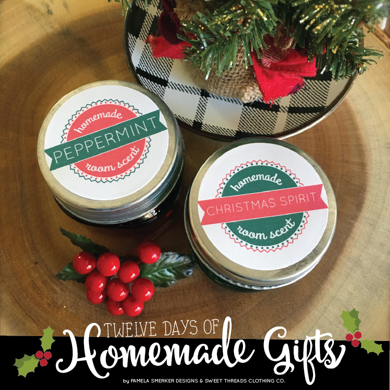 DIY Holiday Gel Room Fresheners Recipe