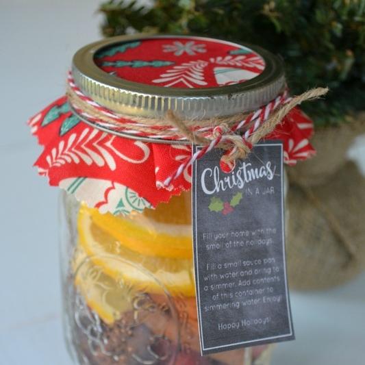 Christmas In A Jar Mulling Recipe