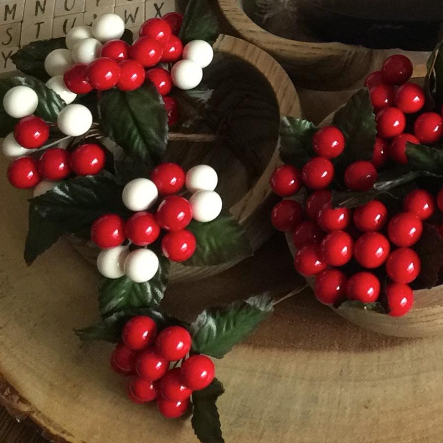 Berry Christmas Picks