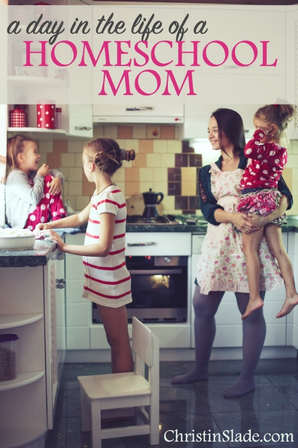 A Day in the Life of a Homeschool Mom
