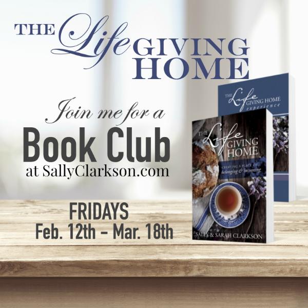 LifeGiving Home Book Club