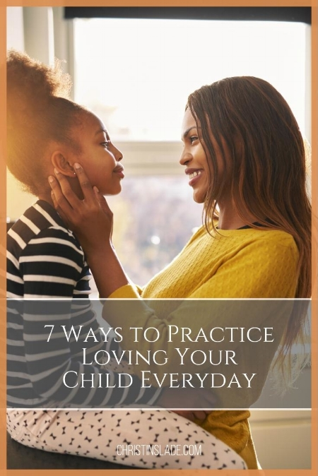 how can I love my children beyond the surface of emotion and words alone? What does love even look like beyond the strong feelings I have for my children?  The Bible has given us the perfect framework we need to model love. @ ChristinSlade.com