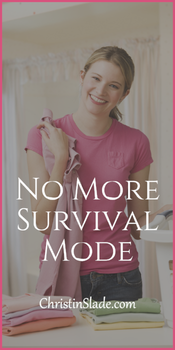 Are you tired of living in survival mode? Learn how to make and manage your goals so you can thrive!