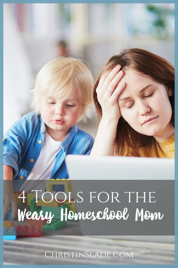 How can you keep going in your homeschool when you're weary and feel you have nothing left to give?