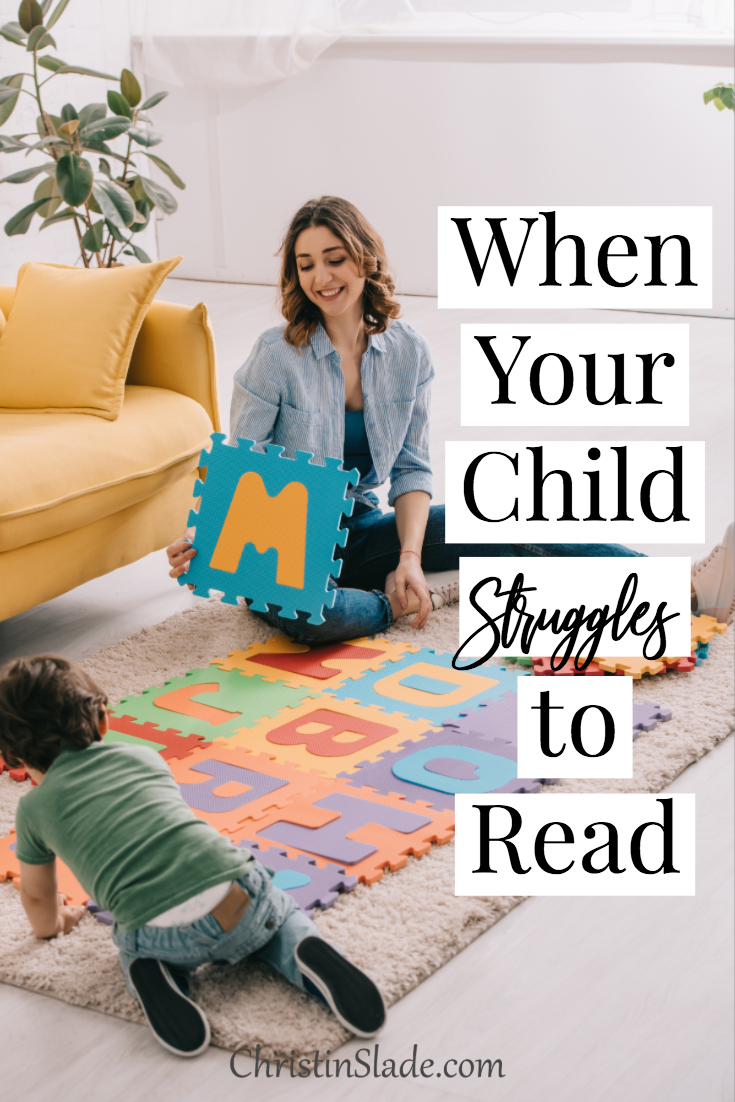 Teaching your child to read can feel so overwhelming. You may not have any idea where to start or your child just isn't catching on to what you are trying to teach.