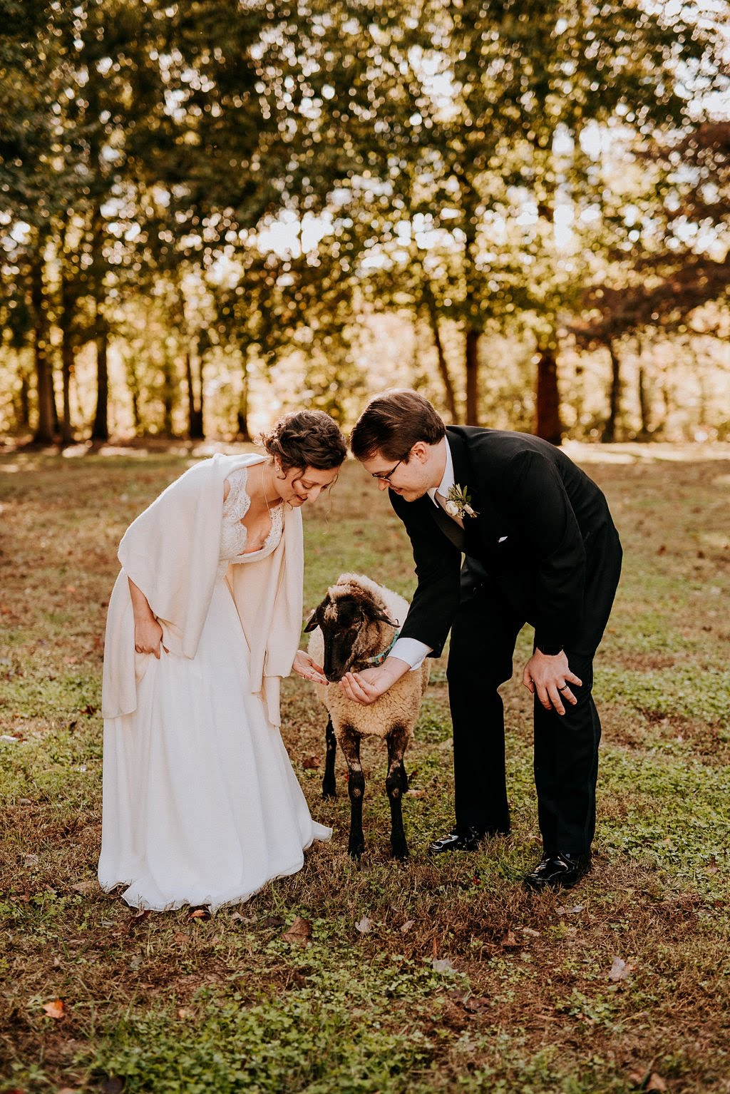"""I also cant stress enough how beautiful this place is, and the heritage livestock and other farm animals add to the charm. Highly recommend getting married here!"" - -Kelly, Married 10.27.2018 