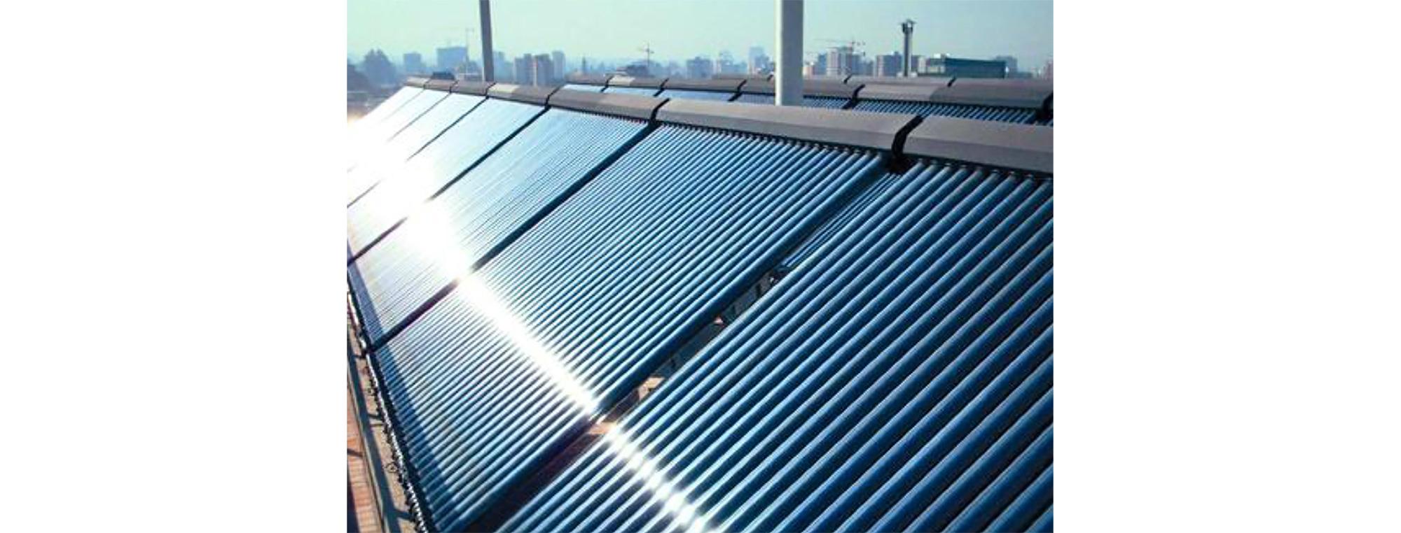 Fig. 16:Colectores solares para ACS.