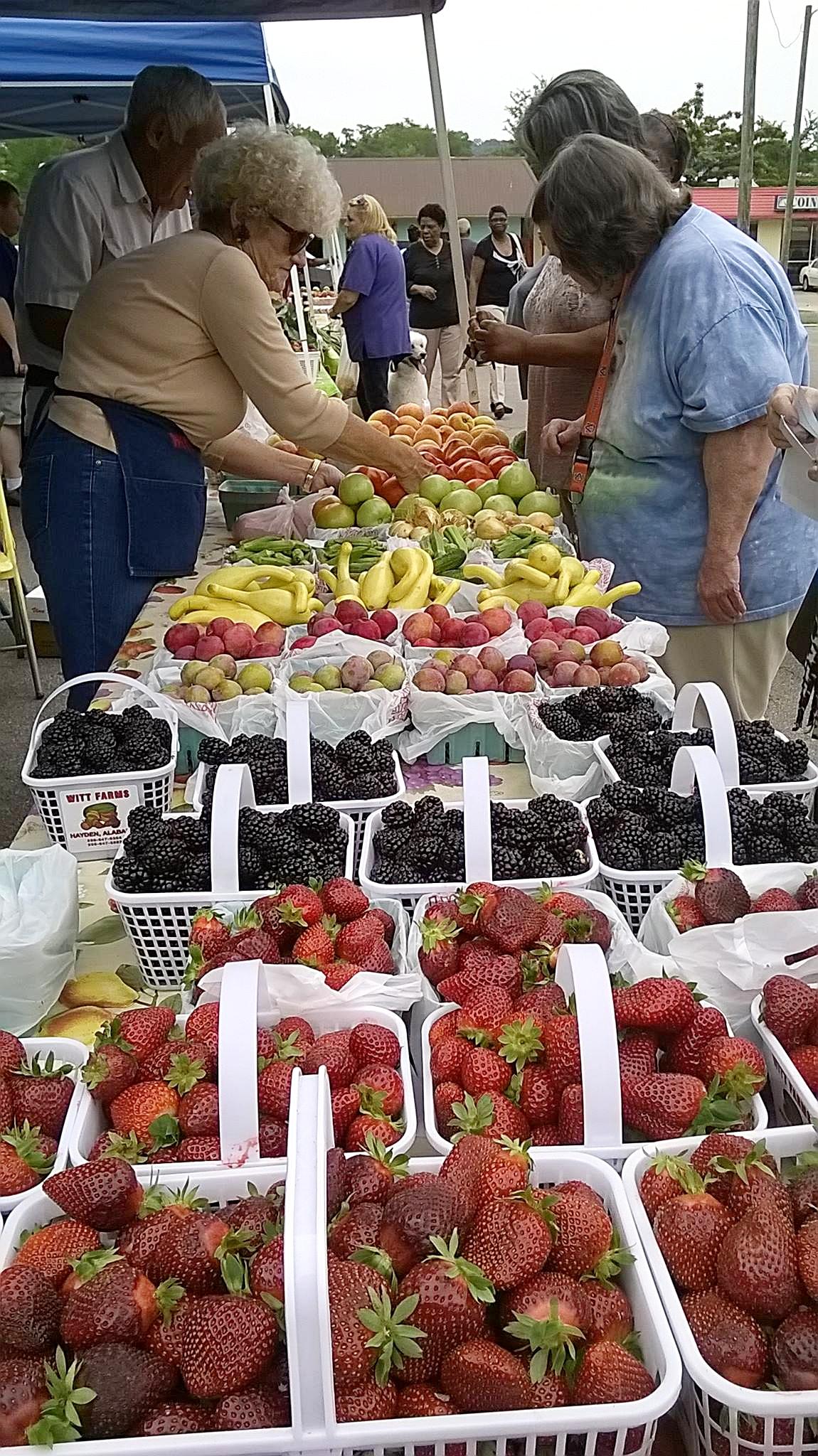 The East Lake Farmers Market, 7753 1st Avenue South at East Lake United Methodist Church