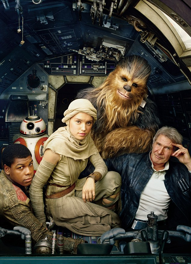 The new Star Wars team (photo by Vanity Fair)