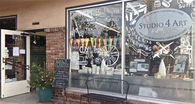 studio 4 art novato front of shop photo