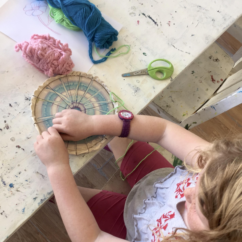 tk and kindergarten art class