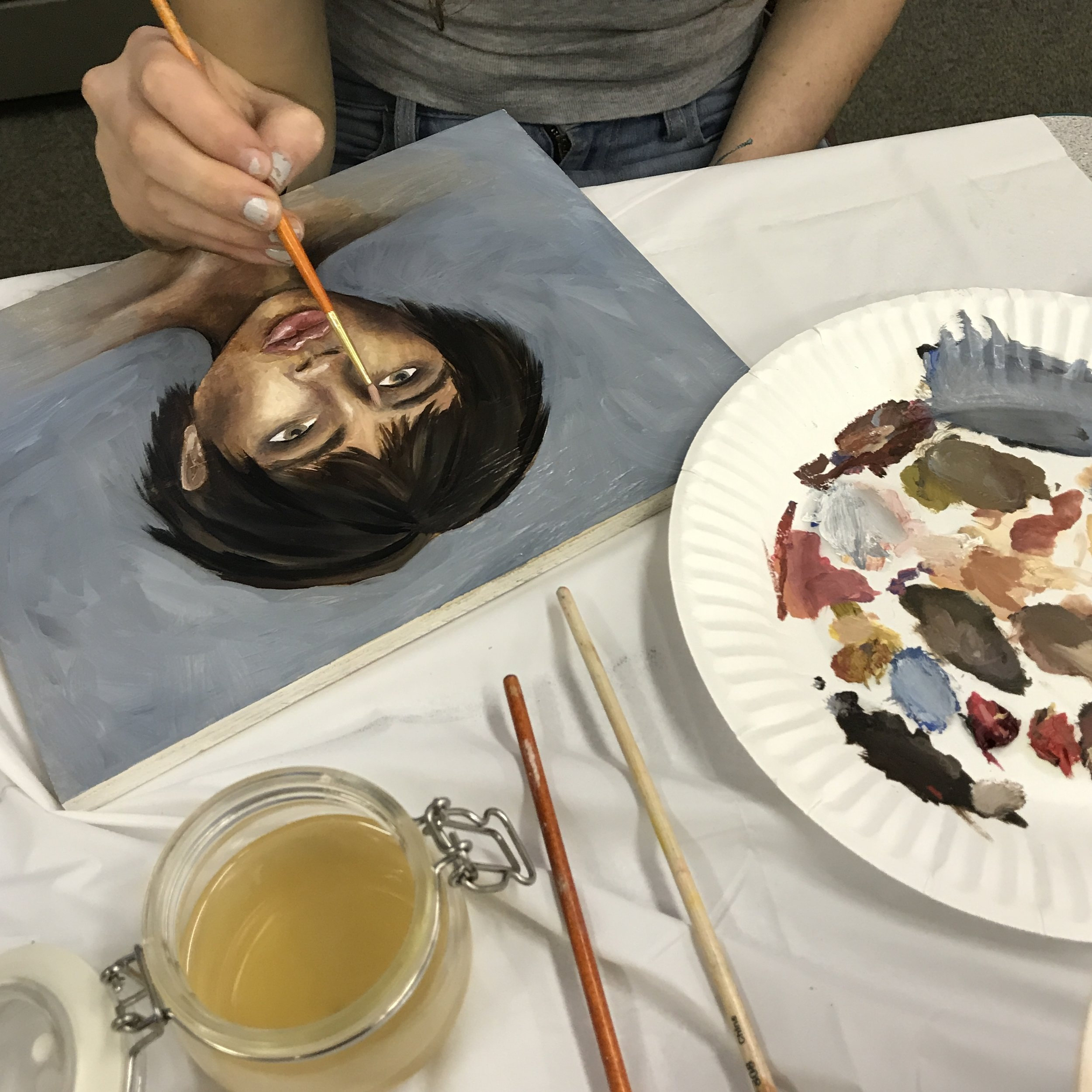 Teen Painting + Drawing - Monday 4:00-6:00